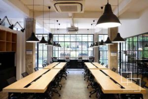 01 coworking space at puri - paty interior
