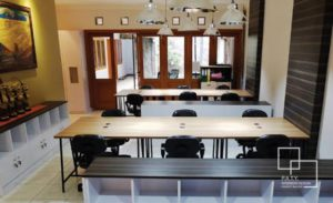 02 coworking space at puri - paty interior