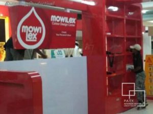 03 mowilex promotion booth - paty interior
