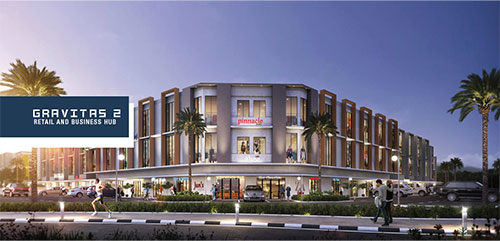Gravitas 2 - Retail & Business Hub Lavon Swan City - PATY Interior