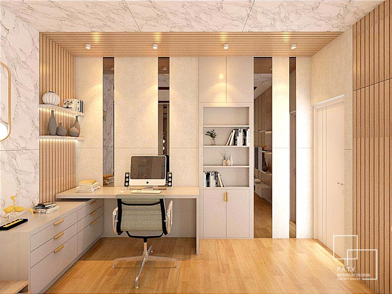 02 Lavon Swan City Cluster Margonite H - PATY Interior - Office