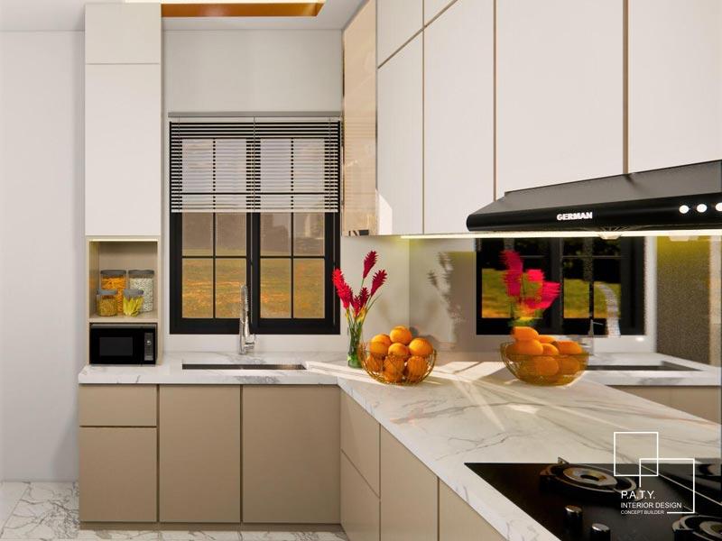 04 Lavon Swan City Cluster Margonite H - PATY Interior - Kitchen