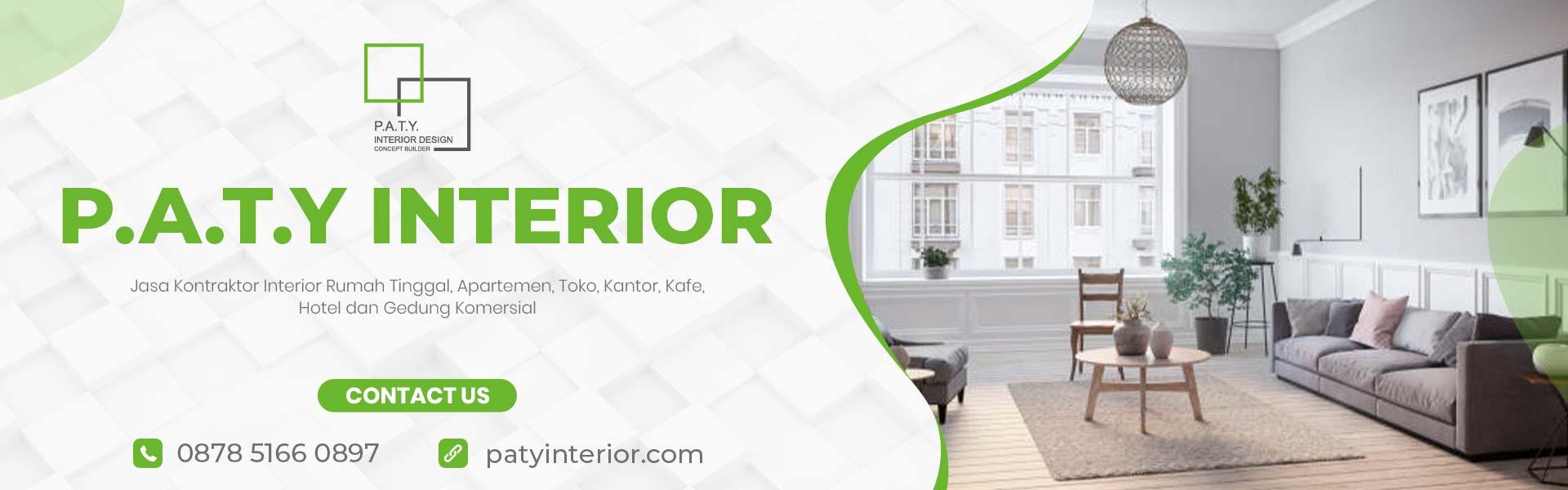 paty interior - jasa kontraktor interior rumah tinggal apartemen kantor toko kafe hotel dan gedung komersial